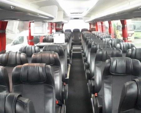 Пътници получиха SMS, че в автобуса има бомба! Отцепиха района