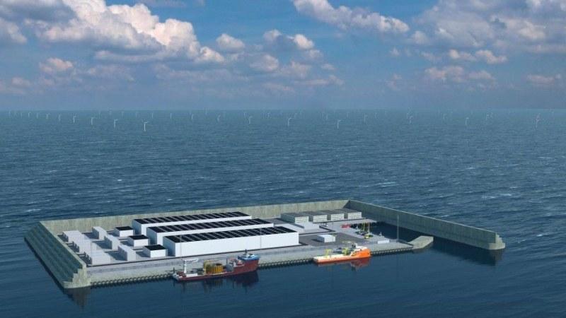 Дания ще строи първия енергиен остров в света