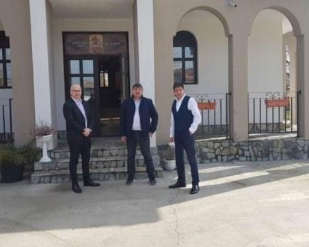 Църквата в Триводици е преобразена