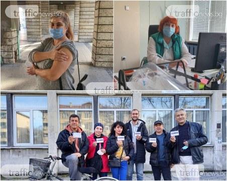 Пловдивски учители след ваксинация: Вярваме на науката, а не на Фейсбук