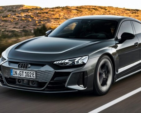 Audi представи впечатляващия е-trоn GT