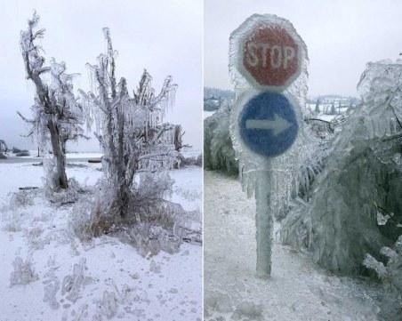 Звярът идва от Изток: Снежна буря се задава към Балканите