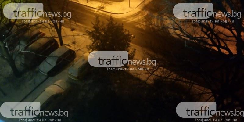 Снежна пелерина покри Пловдив, температурите паднаха под нулата