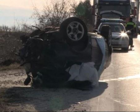 Почина и вторият шофьор от тежката катастрофа на пътя Русе-Бяла