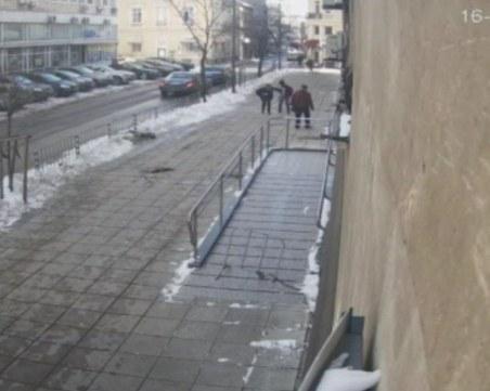 Жената, ранена от ледени висулки в София, ще търси правата си в съда