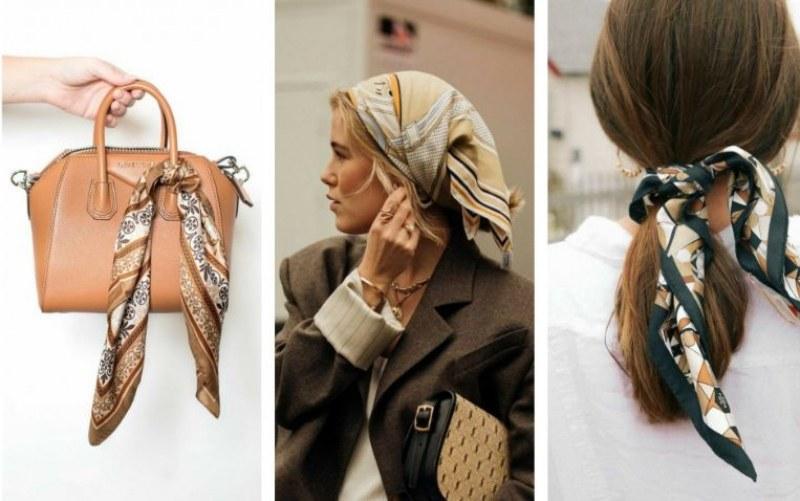 Копринени шалове: Модните аксесоари, които обявяват пролетта и как да ги носите
