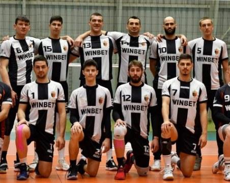Волейболният Локомотив с бърза победа в Кърджали