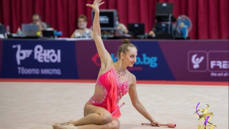 Златната Боряна Калейн се прибира с четири медала от Москва