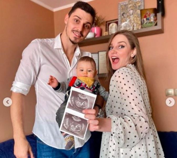 Мис България Нанси Карабойчева е бременна с второ