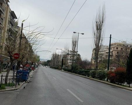 Въпреки локдауна: Спешните отделения в Атина и областта запълнени на 90%
