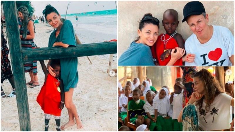 Диляна Попова: Африканските деца са най-смирените и щастливи хора