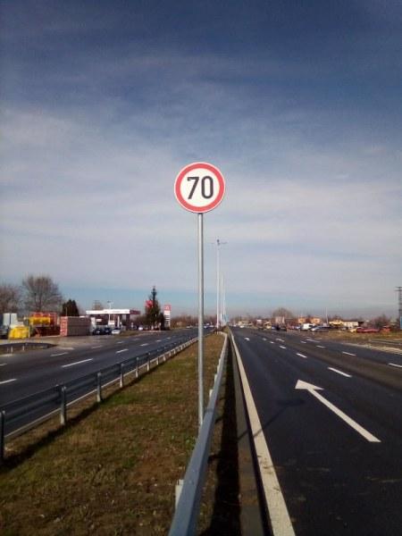 Добра новина за шофьорите: С по-висока скорост на Асеновградско шосе от днес