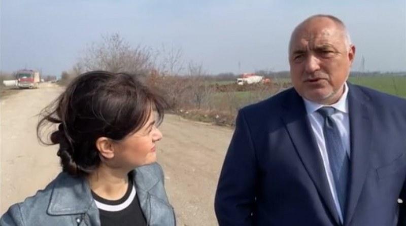 Борисов инспектира модернизацията на главен пътя  Видин-Монтана