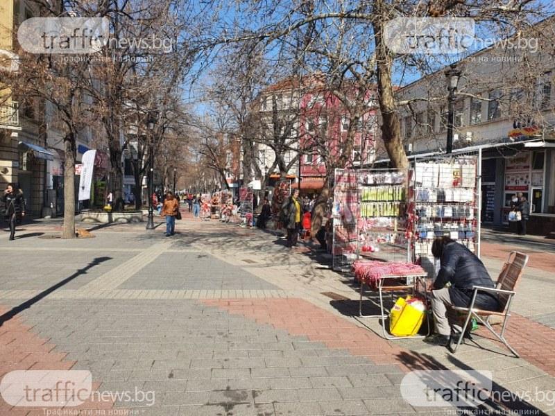 Февруарска пролет в Пловдив! До 18 градуса днес