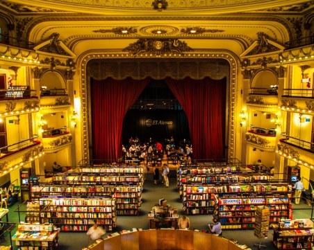 100-годишен театър, превърнат в зашеметяваща книжарница