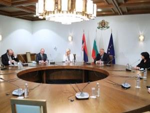 Борисов: Предимство за бизнеса е, че от Белград до Варна можеш да стигнеш без светофар