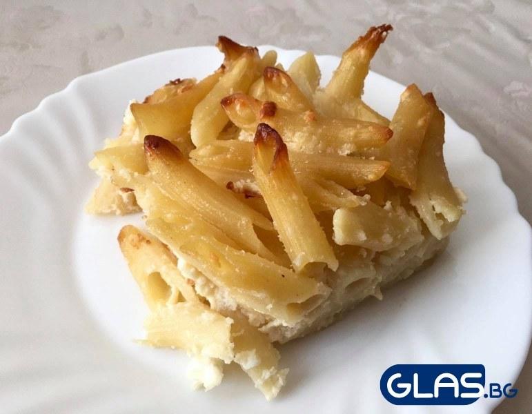 Вкусна рецепта за макарони на фурнa