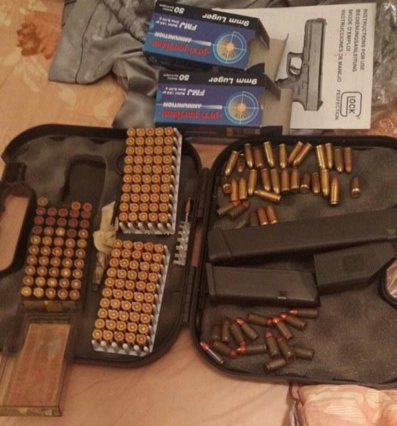 Затвор за панагюрец, държал незаконен пистолет и патрони