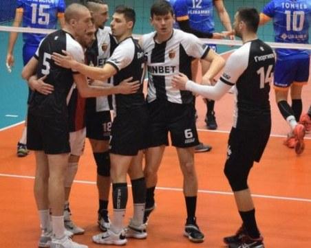 ПСК Локомотив надви с 3:2 гейма ВК Дунав
