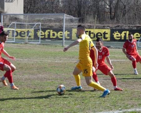 Вратар и юноша бележат за Марица при победата над Хасково