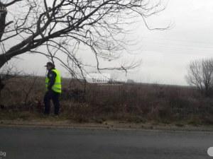 Мъж от Карлово почина, след като самокатастрофира на пътя за Баня