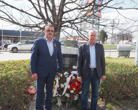 Димитър Иванов почете 142 г. от рождението на Александър Стамболийски