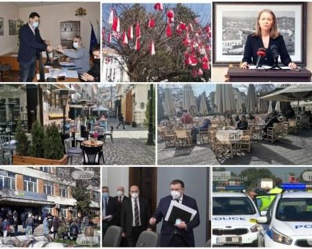 ОБЗОР: Заведенията посрещнаха първите си клиенти в Пловдив, реденето на листи за изборите на финала