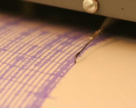 Земетресение в района на Благоевград