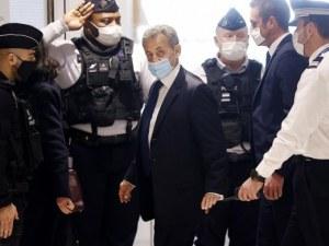 Експрезидентът на Франция Никола Саркози отива в затвора