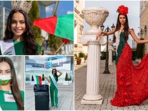 Пловдивската Мис Виктория Лазарова ще дефилира в Тайланд с рокля в бяло, зелено и червено