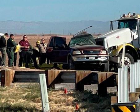 Джип с 27 пътници е катастрофирал
