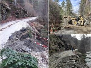 Подготвят за разширение пътя за Ситово и Лилково, укрепиха и свлачището