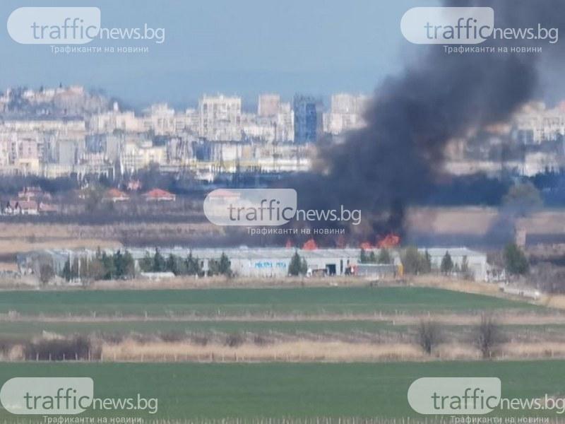 Загасиха пожара край Околовръстното
