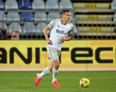 Антов дебютира в Серия