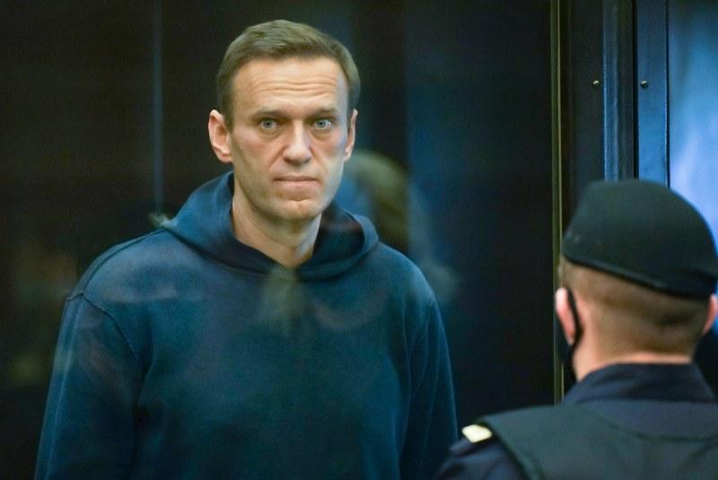Навални е под карантина в следствен изолатор