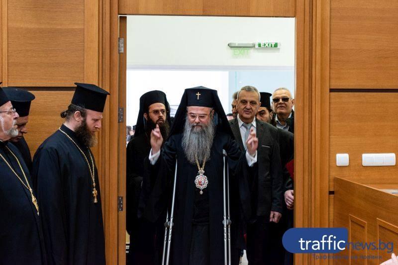 Пловдивският митрополит Николай е претърпял операция