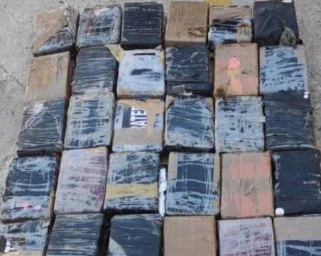 100 килограма кокаин, сложен в контейнер с банани, намериха в Атина