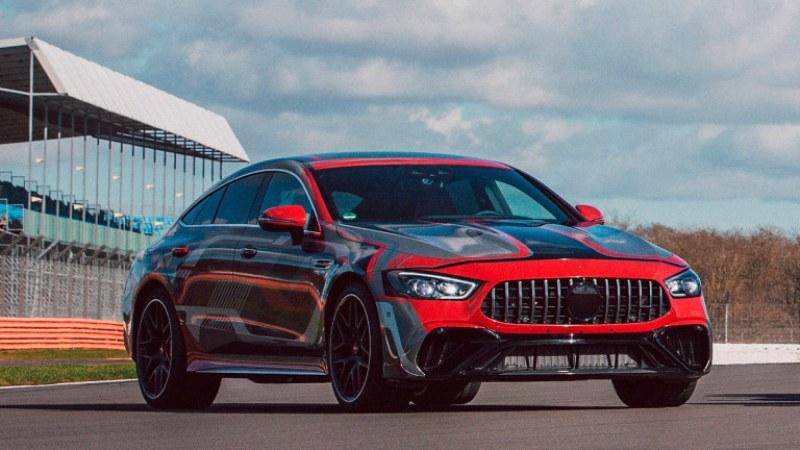 Mercedes обяви най-мощния си сериен модел