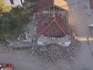 Над 100 вторични трусове в Гърция след силното земетресение