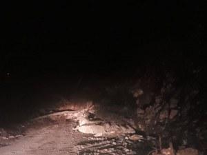 Свлачището над Асеновград е разчистено