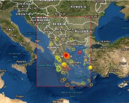 Обявиха извънредно положение в част от Гърция след силното земетресение