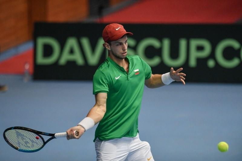 Адриан Андреев загуби втория мач за Купата Дейвис