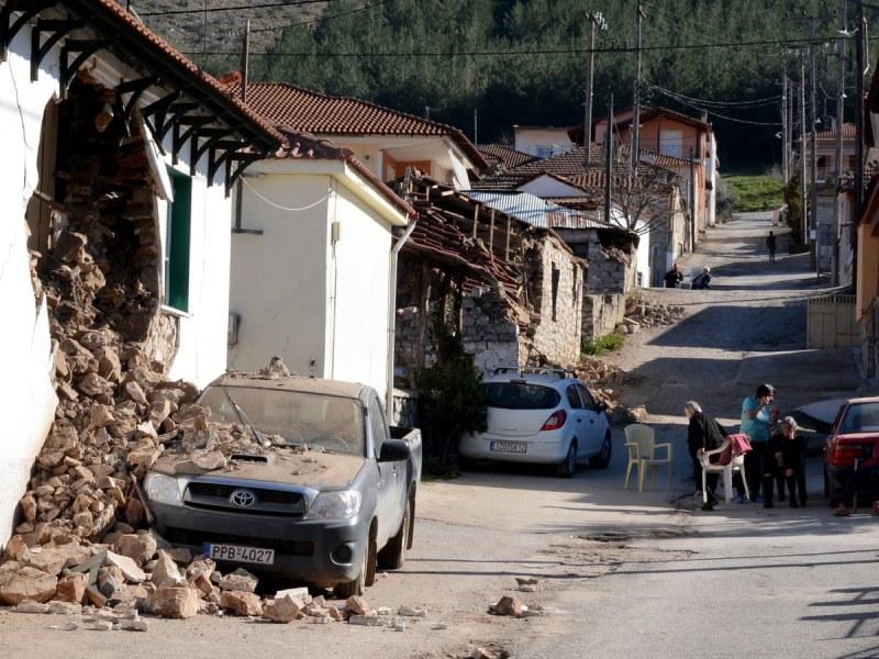 Продължават вторичните земетресения в Гърция