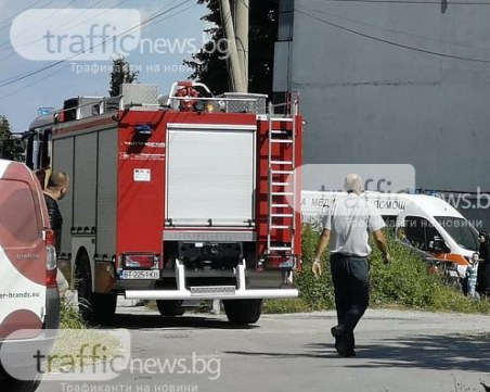 Евакуираха цял вход в Пловдив, апартамент горя