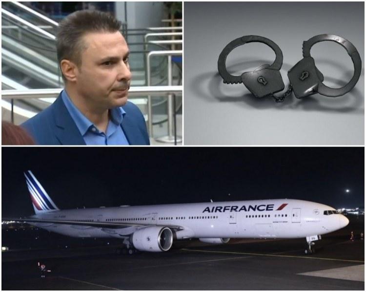 Публикуваха кадри от самолета, кацнал аварийно в София