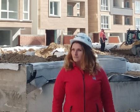Ивалина от Пловдив предпочете адреналина на строителните обекти пред работата в офис