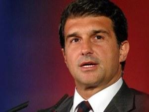 Жоан Лапорта спечели категорично изборите за президент на Барселона