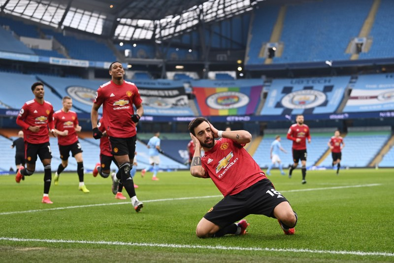 Юнайтед спря победната серия на Сити