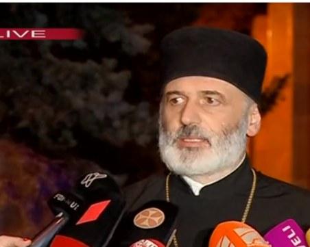 Шестима ранени след масов бой между свещеници в Грузия