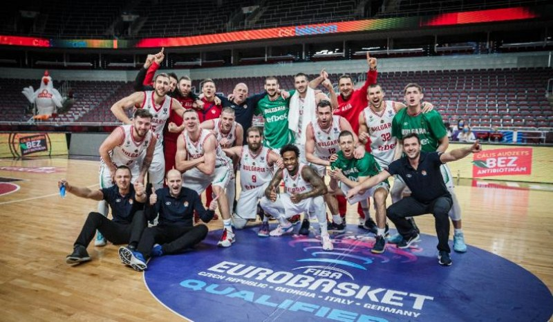 Баскетболните нацонали разбират съперниците на ЕвроБаскет в края на април